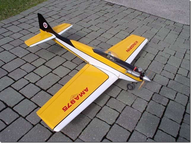 Kingpin aerobatic model designed by Dave Platt - Parts Set