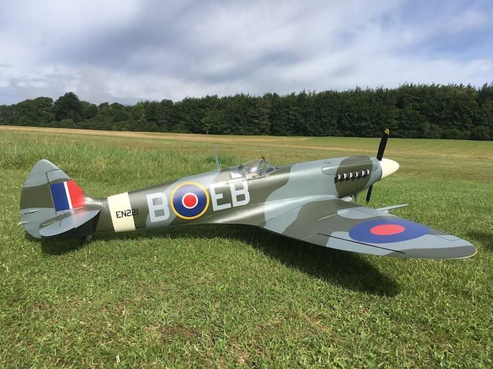 Spitfire Parts Set & Plan Set by Dave Platt