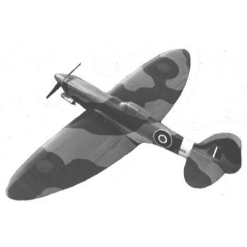 Supermarine Spitfire Mk XII Parts Set for AM1688