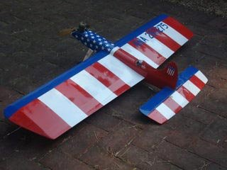 All American CL Stunter by DeBolt - Parts/Plan set