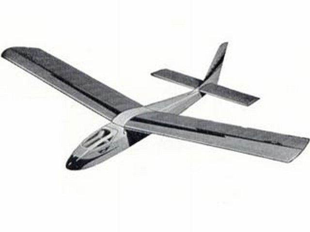Veron Impala glider parts and plans set