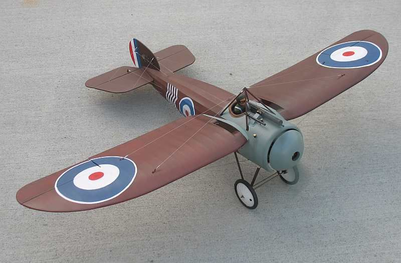 "Bristol M1C - 46"" electric scale model"