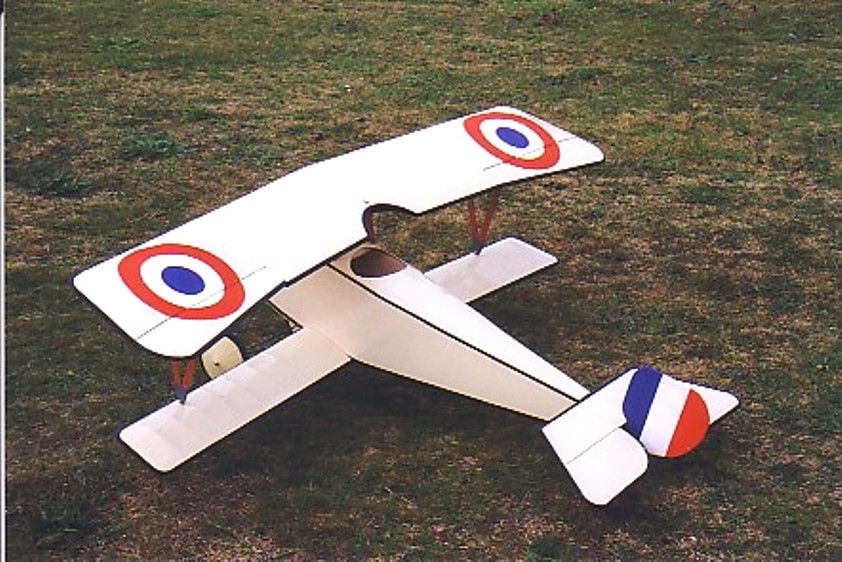 "Nieuport 11 37"" span Parts Set and plan"