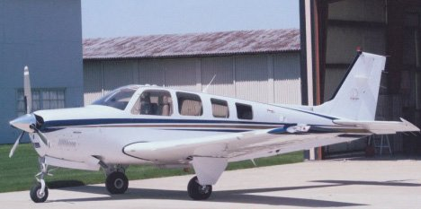 A-36 Beech Bonanza plan set