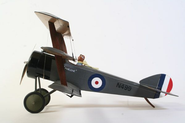 Sopwith Triplane - Parts Set and plan