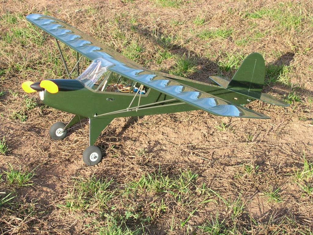 Aeronca Defender - electric scale 42 inch