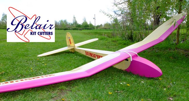 "Sunspot 121"" Vintage glider by R Yeabsley"