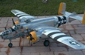 B-25 Mitchell 118 inch - Parts Set - Ziroli