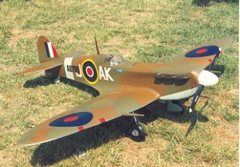 Spitfire Sport Scale by Meister - Parts Set