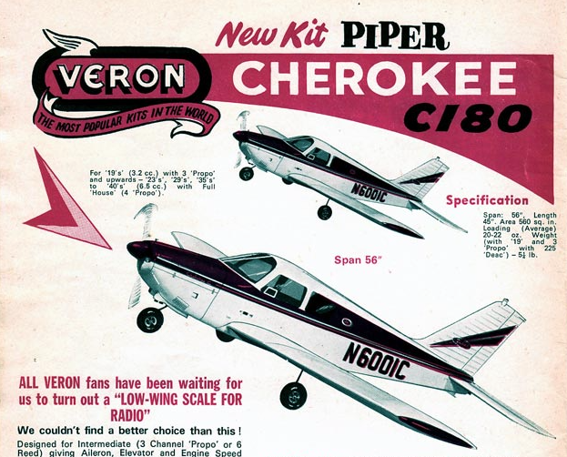 Veron Cherokee C180 Parts Set