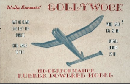 Gollywock Mk2 Parts Set and plan