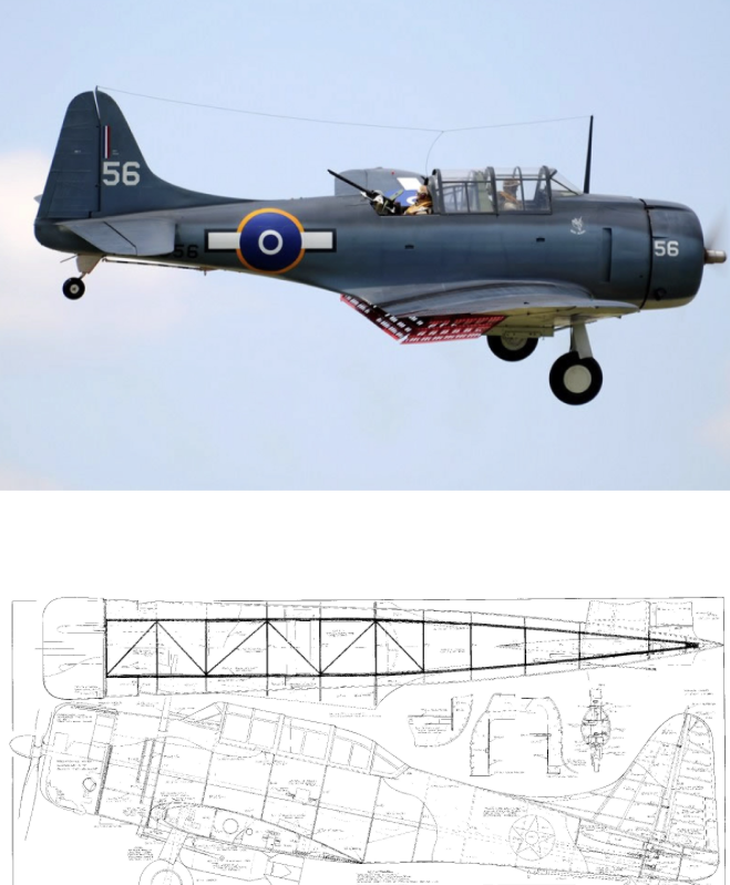 Douglas Dauntless SBD Parts Set by Ziroli