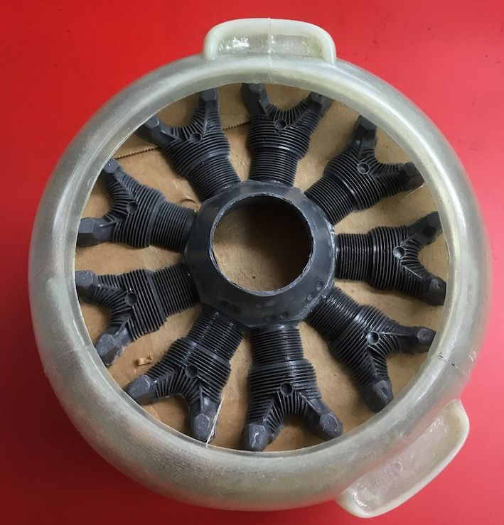 Cast dummy radial engine for T-28 Trojan